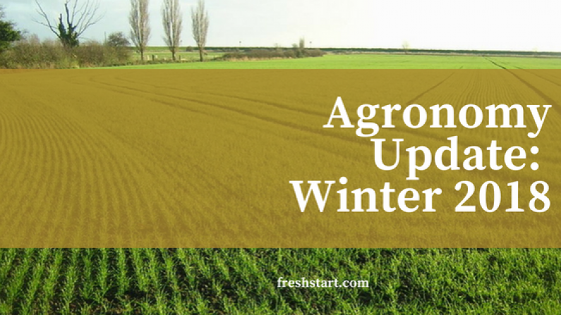 Agronomy Update Winter 2018 1
